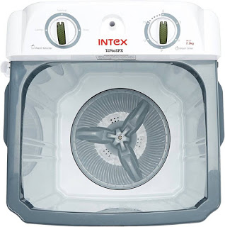 Intex WM75ST 7.5 kg Top Load washer only (Grey and White)